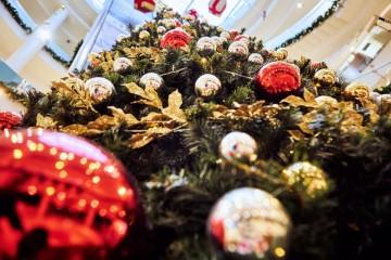 Коледна украса на Мол Велико Търново 2019г.