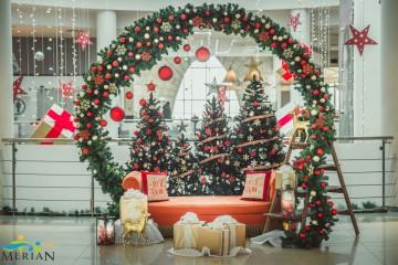 Коледна украса на Мол Велико Търново 2018г.