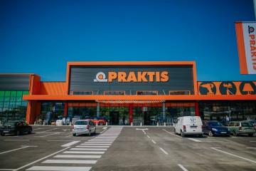 Откриване на търговски площи - Praktis Велико Търново
